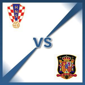 Spain away at Croatia - Follow LIVE text commentary
