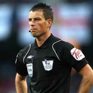 Mark Clattenburg will return on Sunday
