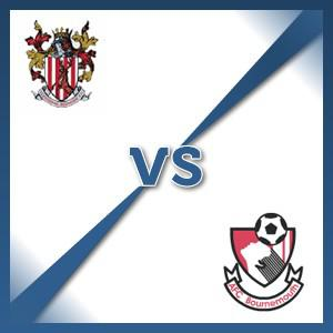 AFC Bournemouth away at Stevenage Borough - Follow LIVE text commentary