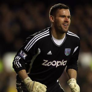 West Brom keeper Ben Foster ponders England return