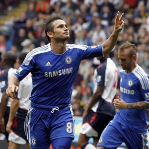 Lampard bags treble in Chelsea win