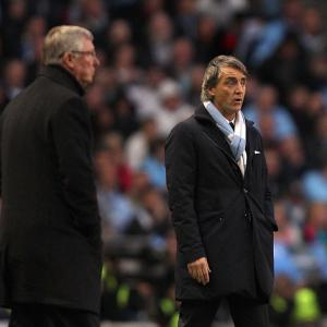 Mancini hits back at Ferguson