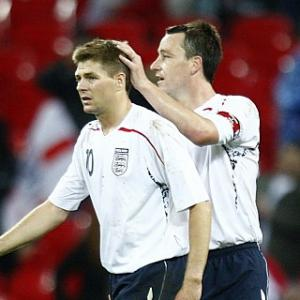 Rumours - Gerrard and Terry fell out over scandal
