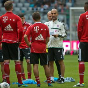 Guardiola toys with a false nine for Bayern