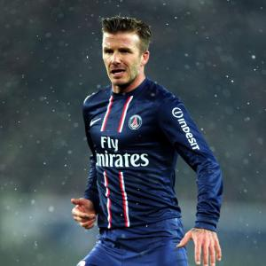 David Beckham eyes starting spot after debut with PSG