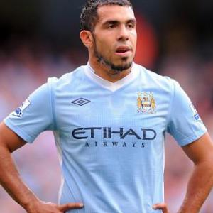 Tevez fined four weeks' wages