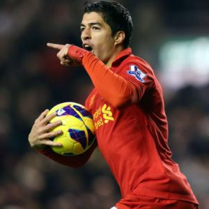 Liverpool Slap 40million Price Tag On Luis Suarez Amidst Manchester City Interest