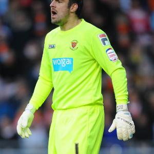 Gilks: I was right to stay with Blackpool