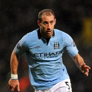 Manchester City defender Pabo Zabaleta hopeful of facing Stoke