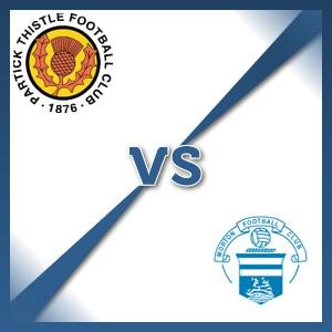 Morton away at Partick Thistle - Follow LIVE text commentary