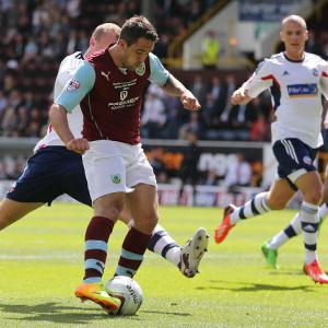 Honours even at Turf Moor