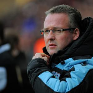 Point was massive says Aston Villa boss Paul Lambert
