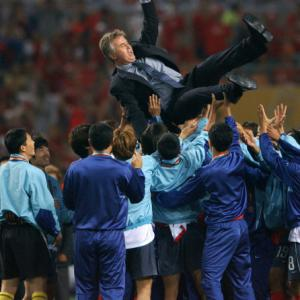 Hiddink to lead S. Korea at World Cup anniversary