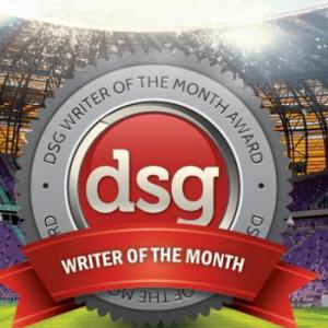 DSG Writer of the Month - June 2013