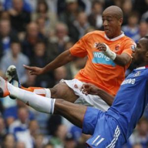 BLACKPOOL v Blackburn: Alex Baptiste faces a spell on the sidelines after injury setback