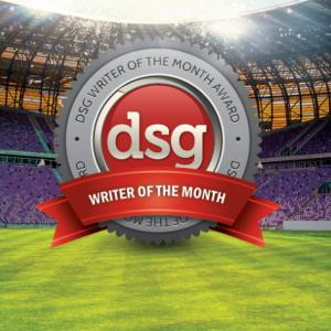 DSG Writer of the Month Award April 2013