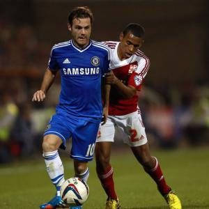 Steve Holland happy with Mata display