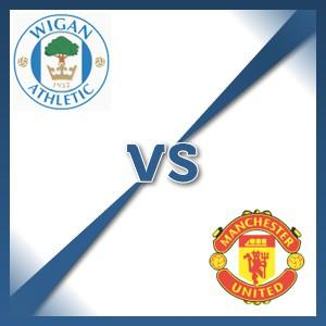 Manchester United away at Wigan Athletic - Follow LIVE text commentary