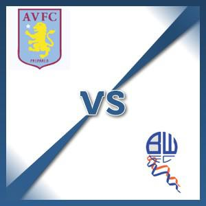 Bolton Wanderers away at Aston Villa - Follow LIVE text commentary