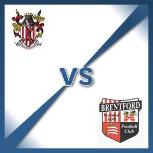 Stevenage Borough V Brentford - Follow LIVE text commentary