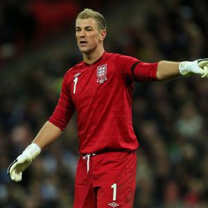 Man City keeper Joe Hart says England failure not an option