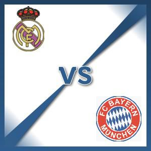 Bayern Munich away at Real Madrid - Follow LIVE text commentary