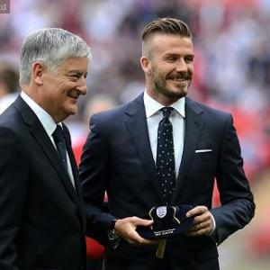 David Beckham's has 'absolutely no plans to play in Australia'