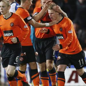 Dundee Utd 1-2 Motherwell: Match Report