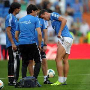 Bale injury not serious - Ancelotti