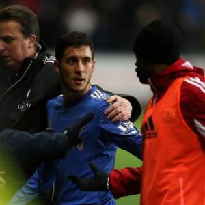 Most bizarre red cards in history: Eden Hazard is the latest of many