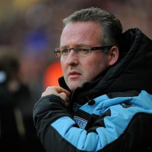 Aston Villa manager Paul Lambert warns of Bradford threat