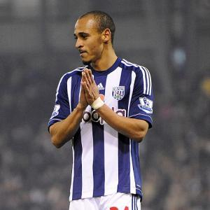 West Brom star Peter Odemwingie in trouble over tweets