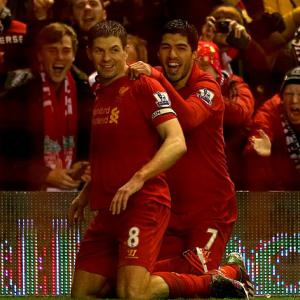 Liverpool captain Steve Gerrard wants Luis Suarez to 'stay hungry'