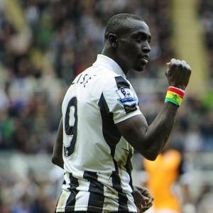 Pardew boosted by Cisse U-turn