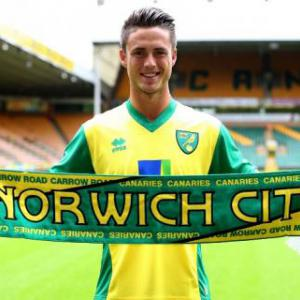 Ricky van Wolfswinkel not fazed by record Norwich city fee