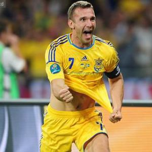Shevchenko in minor road accident