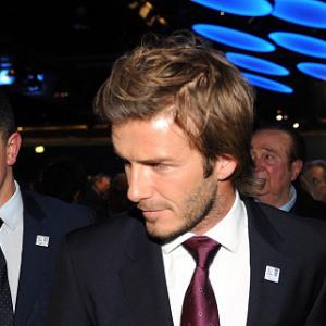 Beckham still not a PSG player, says Ancelotti
