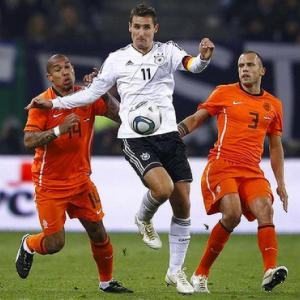 Netherlands V Germany : UEFA Euro 2012 Match Preview