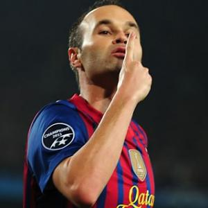 Top 10 Midfielders of 2012: 2 - Andres Iniesta