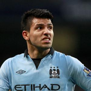 Manchester City star Sergio Aguero at least a week away