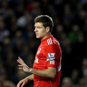 Dalglish urges caution over Gerrard