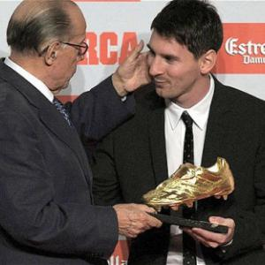'Im no ball hog' - Messi