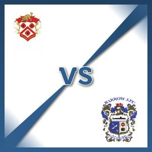 Kettering Town V Barrow Town - Follow LIVE text commentary