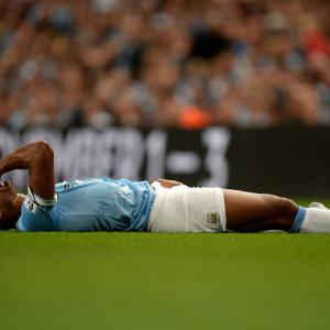 Kompany KO for Manchester City