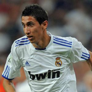 Manchester United target Madrid's Di Maria as Nani replacement