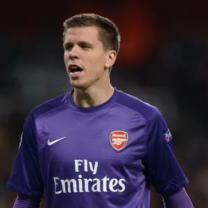 Wenger faith in Szczesny paying off