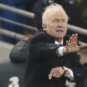 Giovanni Trapattoni dejected after late leveller
