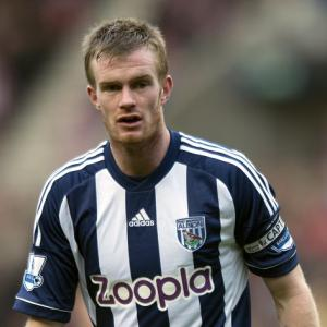 West Brom captain Chris Brunt shrugs off fans' criticism