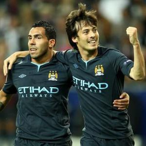 Man City 3-0 Blackburn: Match Report