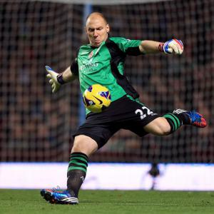 Guzan will cope with goal glut - Lambert